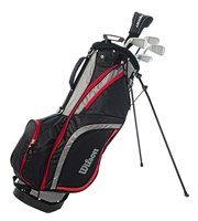Wilson Mens Prostaff HDX Combo Half Golf Set  Steel Shaft