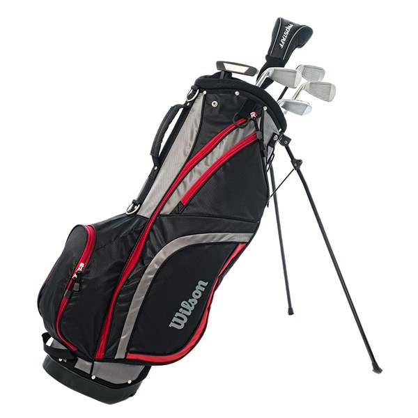 Wilson Mens Prostaff HDX Combo Half Golf Set (Steel Shaft)