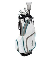 Wilson Ladies Prostaff HDX Combo Half Golf Set  Graphite Shaft