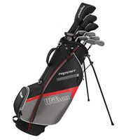 Wilson Mens Prostaff HDX Golf Package Set 1 Inch Longer 2017  Steel/Graphite