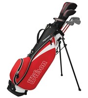 Wilson Junior Prostaff HDX Red Golf Package Set  11-14 Years