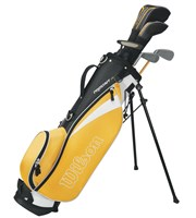 Wilson Junior Prostaff HDX Yellow Golf Package Set  8-11 Years