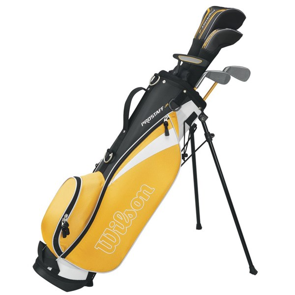 Wilson Junior Prostaff HDX Yellow Golf Package Set (8-11 Years)