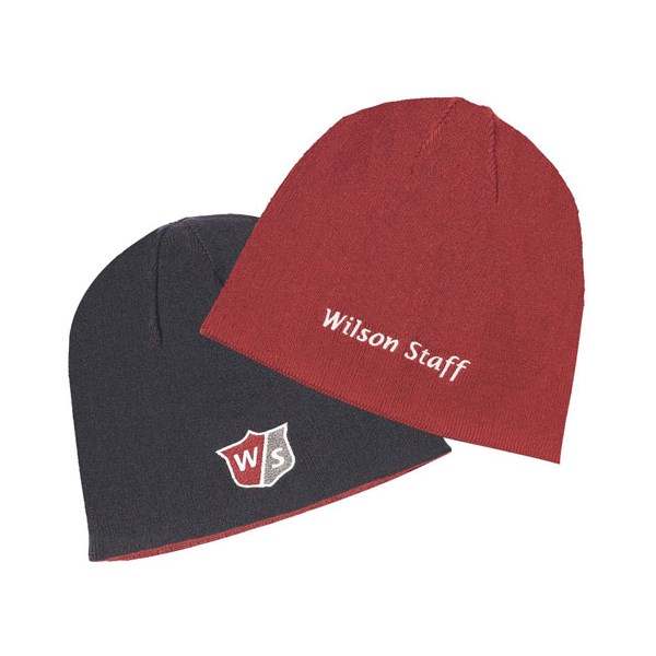 8d422425084018 Wilson Staff Reversible Winter Beanie Hat. Double tap to zoom