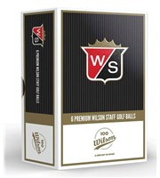 Wilson Limited Edition Centennial Duo Golf Balls  6 Balls