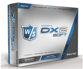 Wilson Staff Ladies DX2 Soft Golf Balls 2015  12 Balls