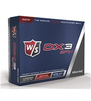Wilson Staff DX3 Soft Spin Golf Balls  12 Balls