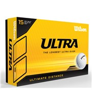 Wilson Staff Ultra Ultimate Distance Golf Balls  15 Balls