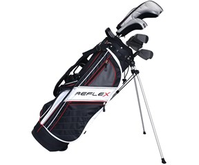 Wilson Mens Reflex Premium Golf Package Set  Steel/Graphite