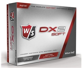 Wilson Staff DX2 Soft Golf Balls 2015  12 Balls