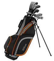 Wilson Mens X-31 Package Set 1 Inch Longer 2017  Steel/Graphite