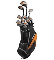 Wilson Mens X-31 Package Set  Steel/Graphite