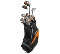 Wilson Mens X-31 Package Set 1 Inch Longer 2015  Steel/Graphite