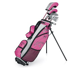 Callaway Junior Girls XJ Series Golf Package Set  Ages 9-12