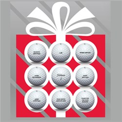 Christmas Promotion - FREE Personalise Titleist Balls & Get a Free Ball Marker