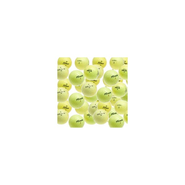 Yellow Optic Lake Balls (12 Balls)