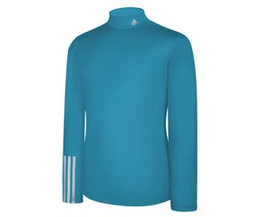 Adidas Mens ClimaLite Thermal Compression 3 Stripe Baselayer
