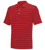 Adidas Mens Two-Colour Stripe Polo Shirt