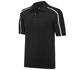 Adidas Mens Puremotion Flex Rib Polo Shirt