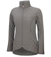 Adidas Ladies Tour Mixed Media Padded Jacket