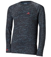 Adidas Mens Climawarm Long Sleeve Camo Print Baselayer