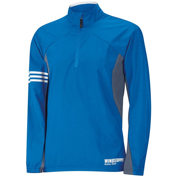 adidas Mens Gore-Tex Windstopper Half Zip Jacket