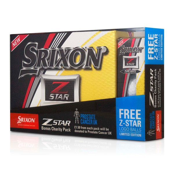 Srixon Z-Star Pure White Golf Balls (15 Ball Bonus Pack) 2017
