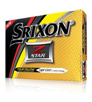 Srixon Z-Star Tour Yellow Golf Balls 2017  12 Balls