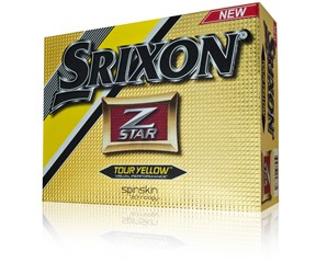 Srixon Z-Star Tour Yellow Golf Balls 2015  12 Balls