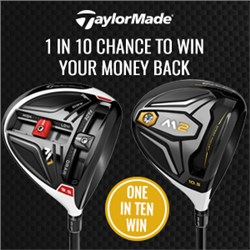 The 1 in 10 TaylorMade Driver Promotion
