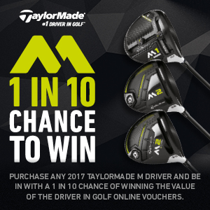 1 in 10 TaylorMade Wood Promotion