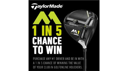 1 in 5 TaylorMade Wood Promotion