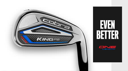 Cobra King F8 One Length Irons reviewed for us by Mark Crossfield