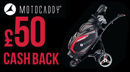 Motocaddy £50 Trolley Trade-in Promotion