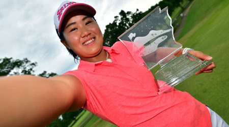 LPGA Star, Nasa Hataoka, Takes Off with Win in Arkansas