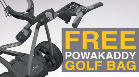 PowaKaddy 2018 Summer Free Bag Promotion is here...