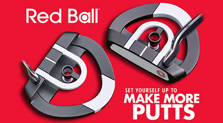 Odyssey Red Ball Putter - Replicate your Set Up with Every Putt