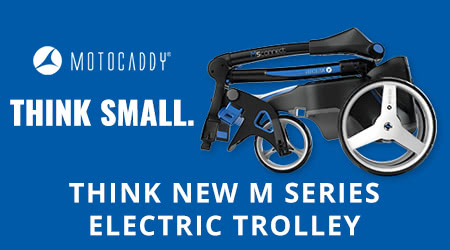 Motocaddy M Series – For Trolley Users Short on Space
