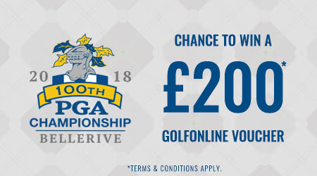 PGA Championship Competition Time – Win £200 from GolfOnline