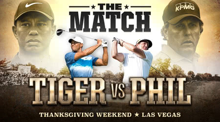 "Phil Mickelson beats Tiger Woods in ""The Match"""