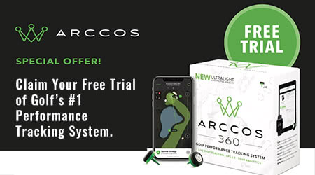 Try out the amazing Arccos 360 Golf Performance Tracker for FREE
