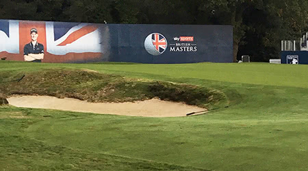 Exciting British Win and GolfOnline plays in the British Masters Pro-Am