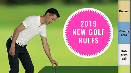 The new rules of golf, everything you need to know before January 1, 2019