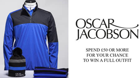 Win the Ultimate Head-to-Toe Golf Outfit from Oscar Jacobson