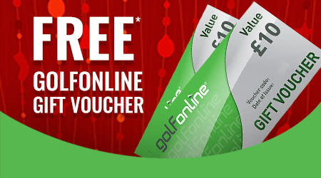 Spend now and claim a £20 GolfOnline Gift Voucher