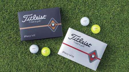 Titleist Unveils the Latest Versions of the Pro V1 and Pro V1x