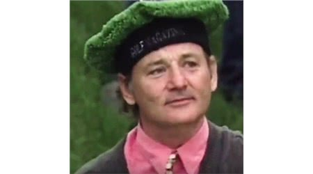 Bill Murray to Unveil Exclusive Golf Apparel Line