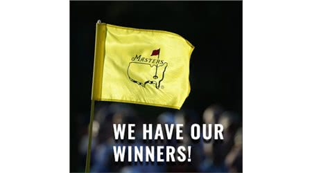 GolfOnline's Masters Competition Winners are Announced