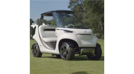 Mercedes Unveils the Daddy of Golf Carts