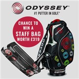 Buy your New Odyssey Putter Now and Win a Tour Staff Bag on GolfOnline
